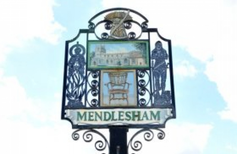 Mendlesham village sign