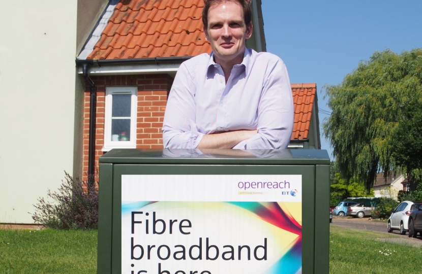 Dr Dan Poulter Better Broadband Suffolk