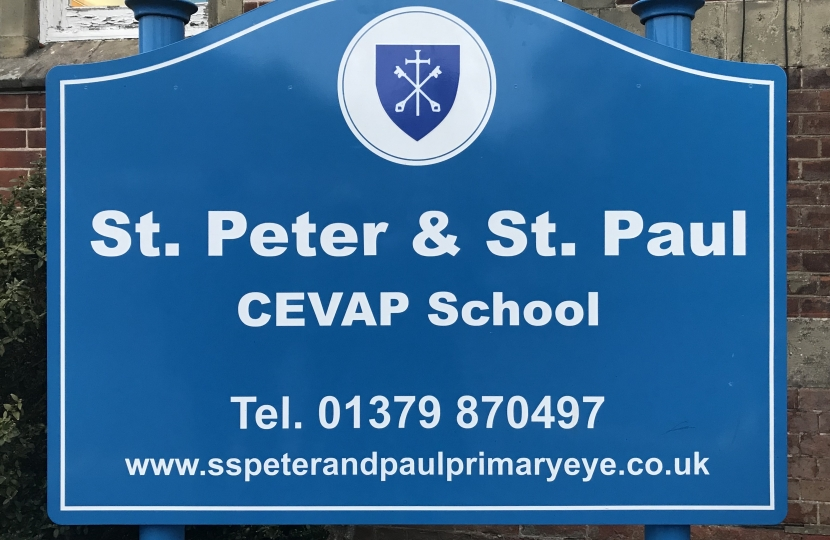St Peter and St Paul Primary School Eye