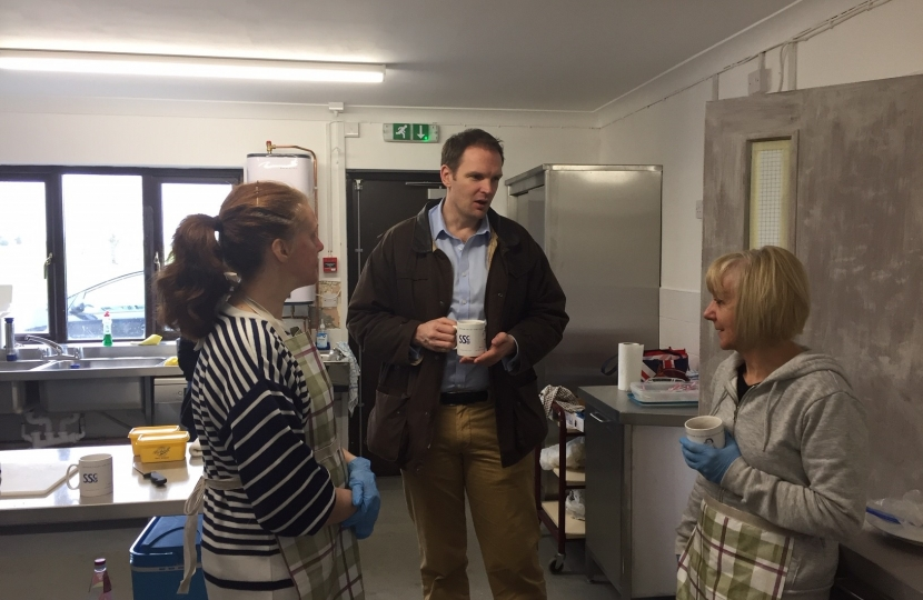 Dr Dan Poulter Cotton Coffee Morning