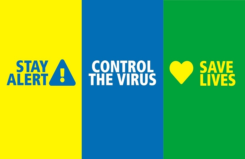 Stay Alert Control the Virus Save Lives